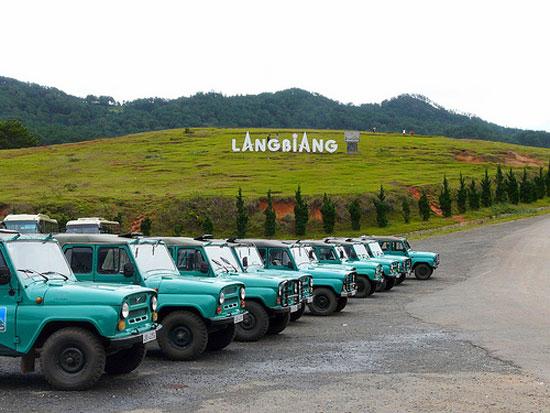 Kết quả hình ảnh cho Khu Du Lịch LangBiang