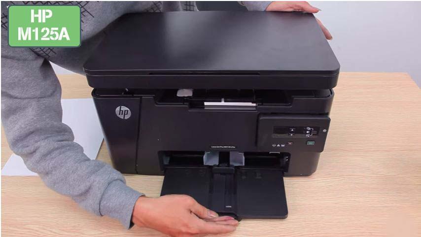 Hướng dẫn sử dụng máy in đa năng Laser HP M125A