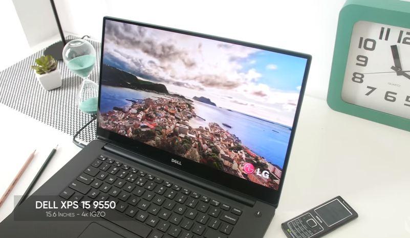 Siêu phẩm laptop Dell XPS 15 9550