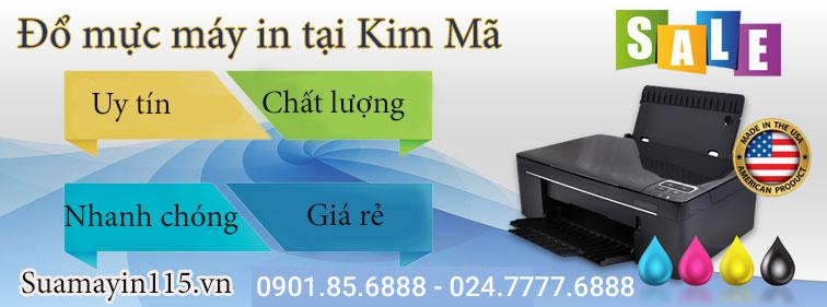 Dịch vụ đổ mực máy in tại Kim Mã