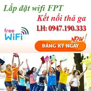 lắp đặt internet wifi fpt nam định