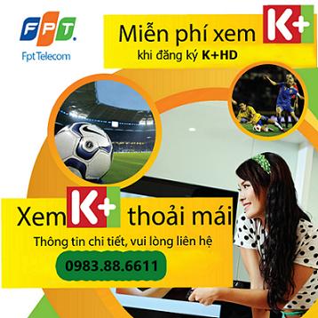 K+ HD trên Truyền Hình FPT
