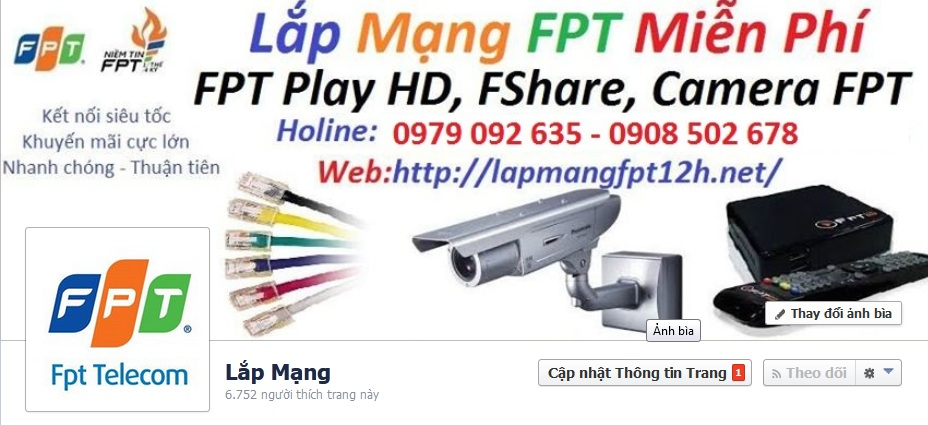Lắp Mạng FPT Bắc Giang