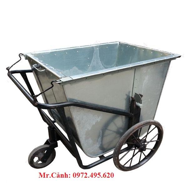 xe rác 400 lít