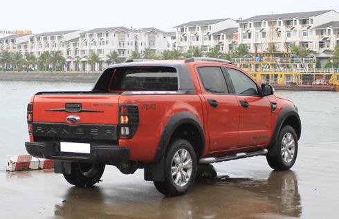 Đánh giá xe Ford Ranger Wildtrak 3.2
