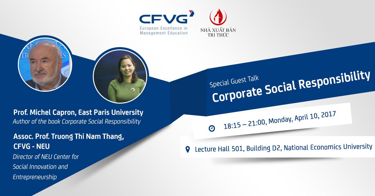 Gặp gỡ và đối thoại của GS. Michel Capron, trường Đại học Paris East với học viện, cựu học viên trung tâm CFVG