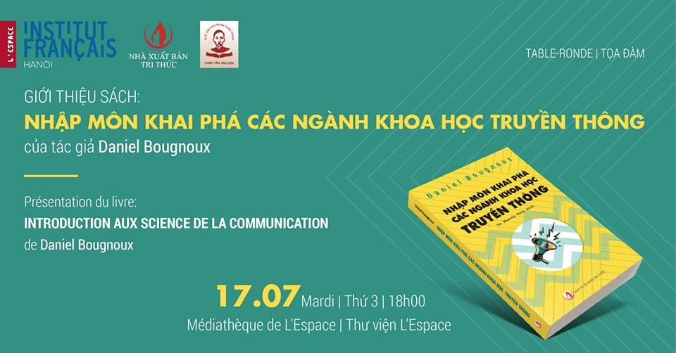 Hội thảo giới thiệu sách NHẬP MÔN KHAI PHÁ CÁC NGÀNH KHOA HỌC TRUYỀN THÔNG