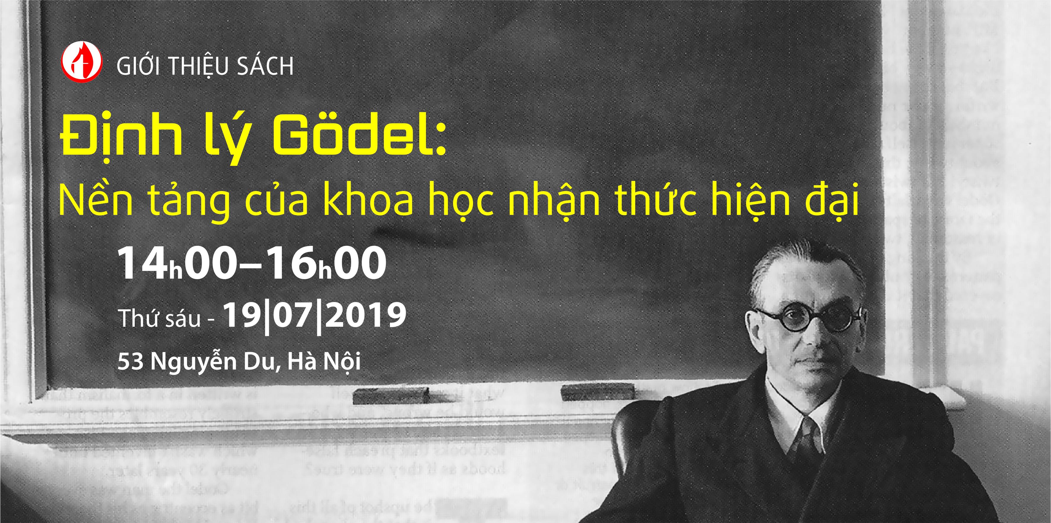 GIỚI THIỆU SÁCH Định lý Gödel – Nền tảng của khoa học nhận thức hiện đại