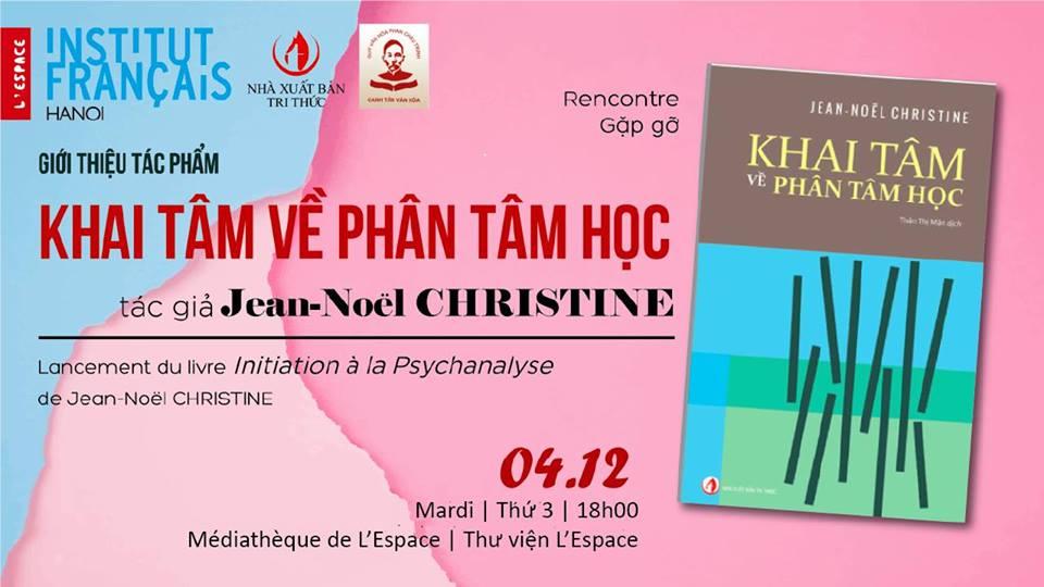 Hội thảo giới thiệu sách  KHAI TÂM VỀ PHÂN TÂM HỌC