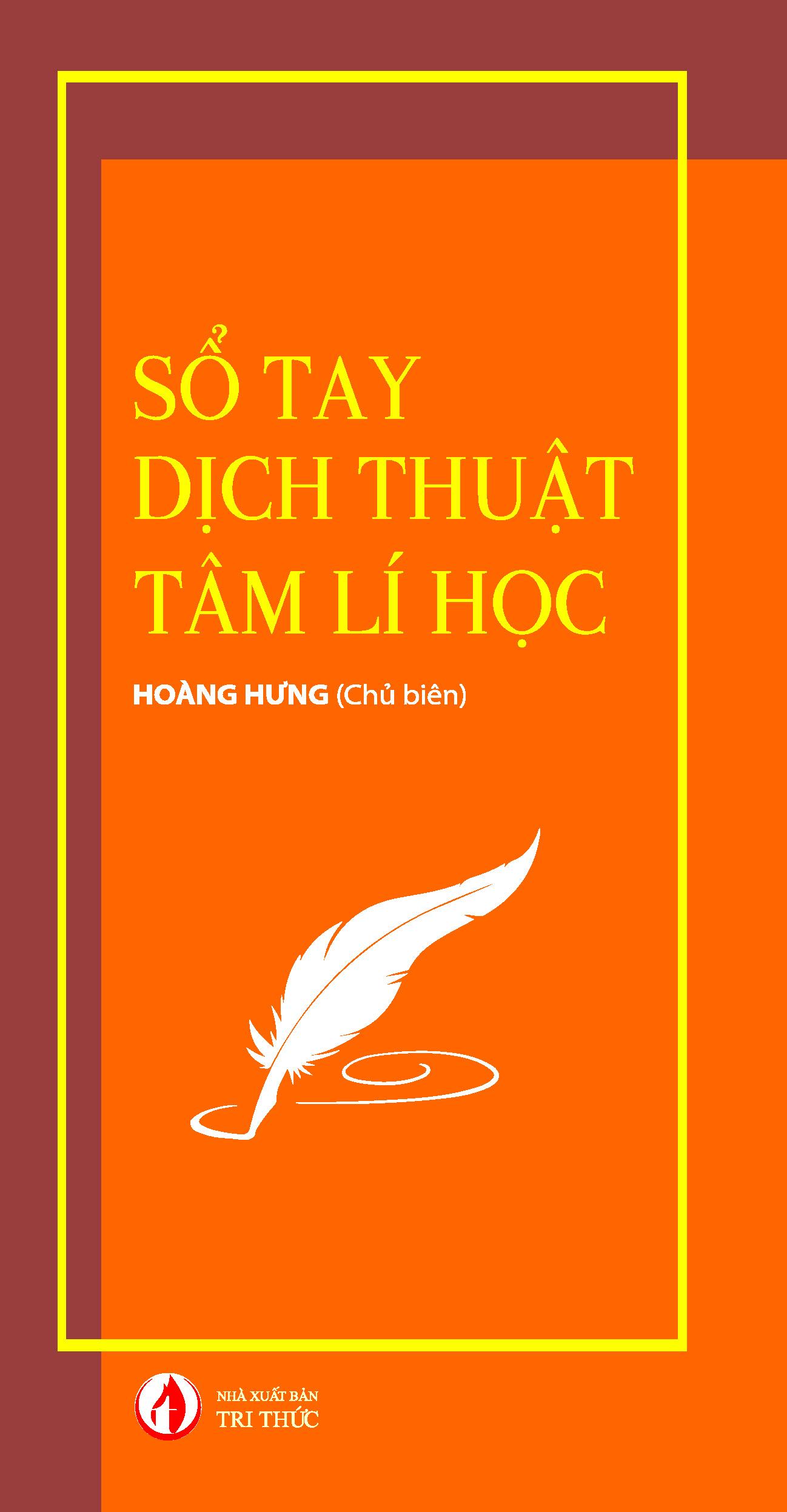 Sổ tay dịch thuật tâm lí học