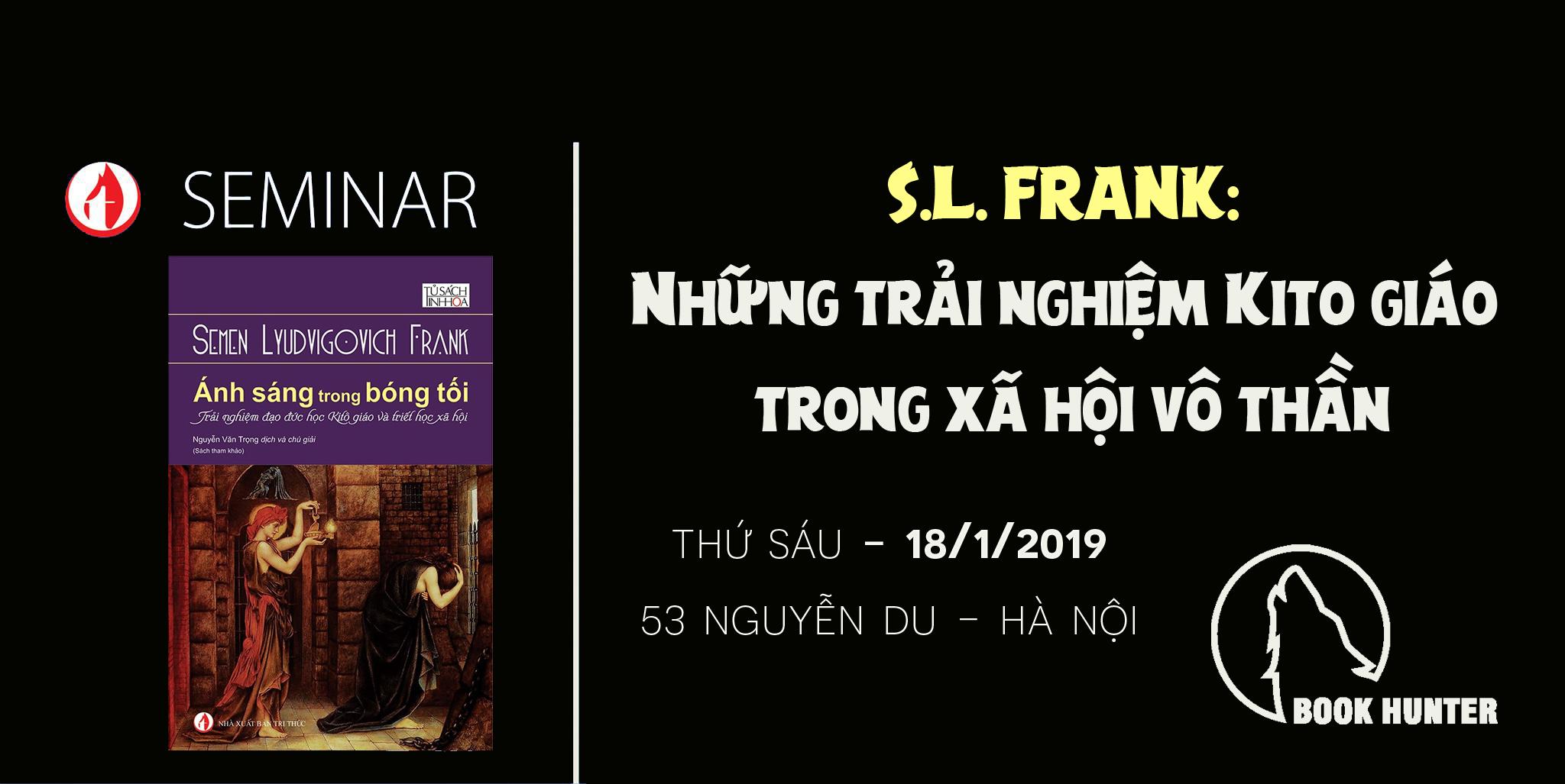 Seminar: Những trải nghiệm Kito giáo trong xã hội vô thần của S.L. Frank