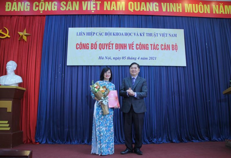 Liên hiệp các Hội Khoa học và Kỹ thuật Việt Nam công bố các quyết định bổ nhiệm cán bộ chủ chốt