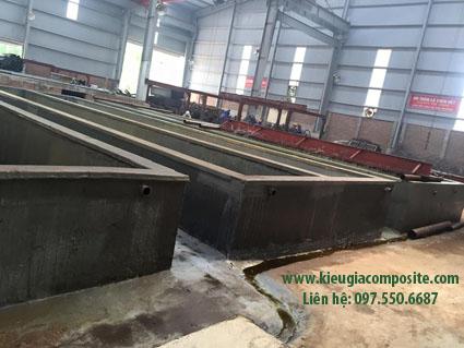 bọc phủ composite bể chứa hóa chất