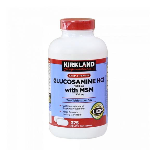 Viên Uống Bổ Xương Khớp Kirkland Glucosamine MSM Mỹ (375 Viên)