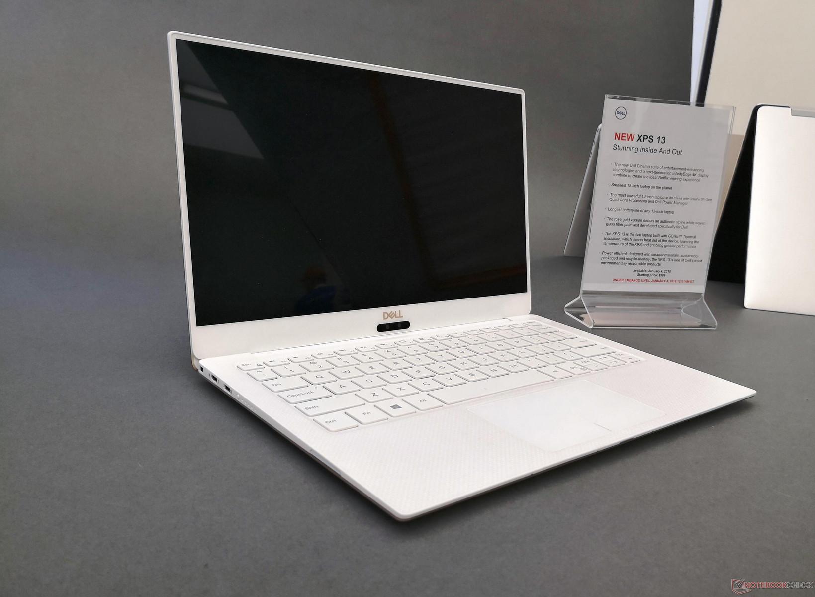 Dell XPS13 9370 (i7 8550u - 8G-256G - 4K 13.3