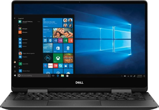 Dell insprion 13 7000 (i7386-7007BLK-PUS)  2 in 1 Laptop (i7 8565u-16-256-13.3 4K Touch - Pen Stylus
