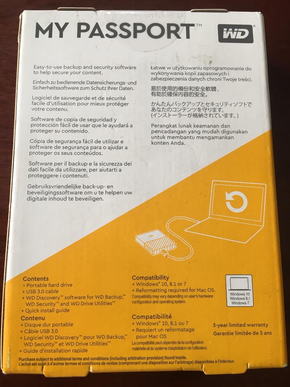 HDD 1Tb - 2 5