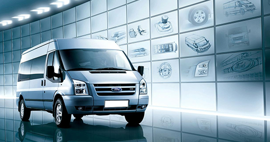 FORD TRANSIT LUXURY