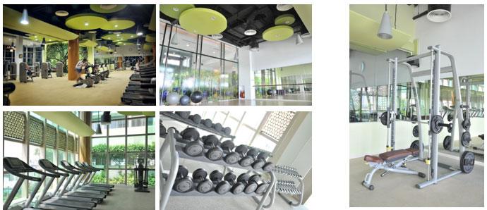 Phòng tập gym The Vista