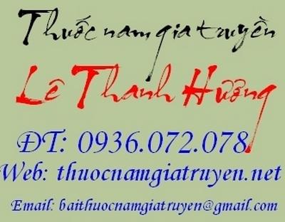 thuốc nam Lê Thanh Hương
