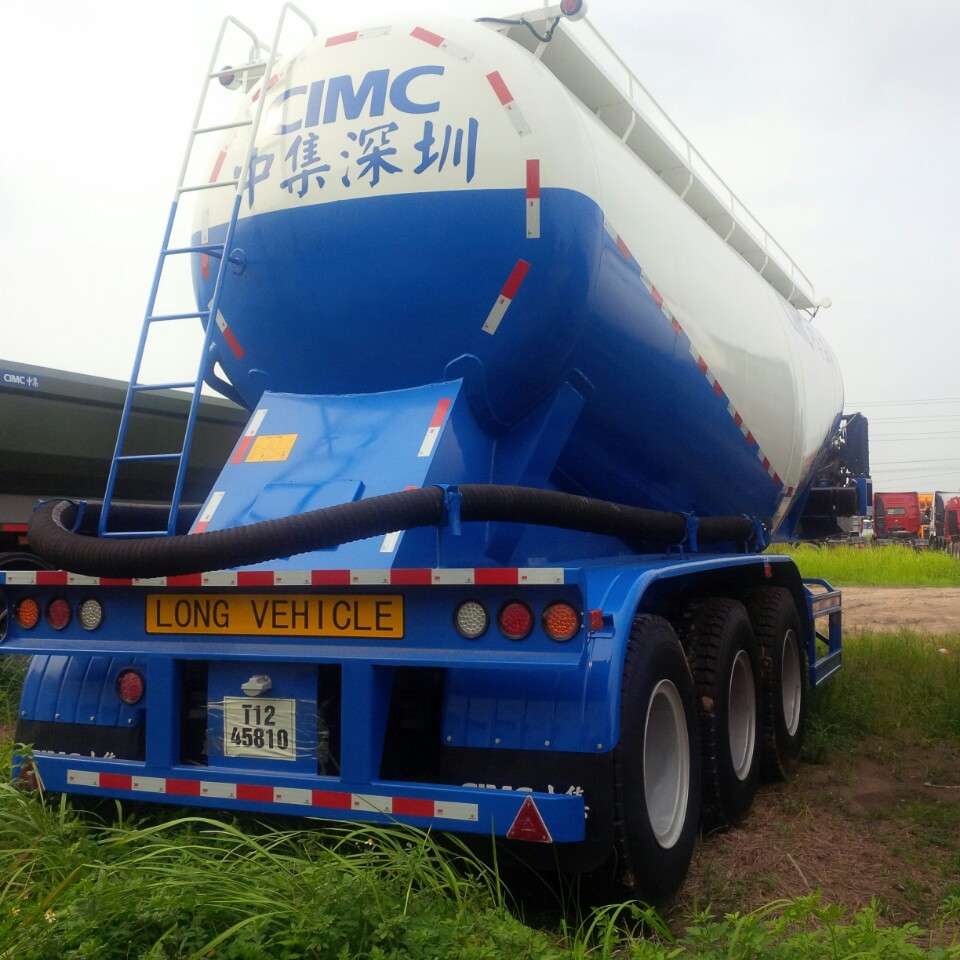 Téc xi măng rời 29.5 m3 hiệu CIMC Thâm Quyến 2020