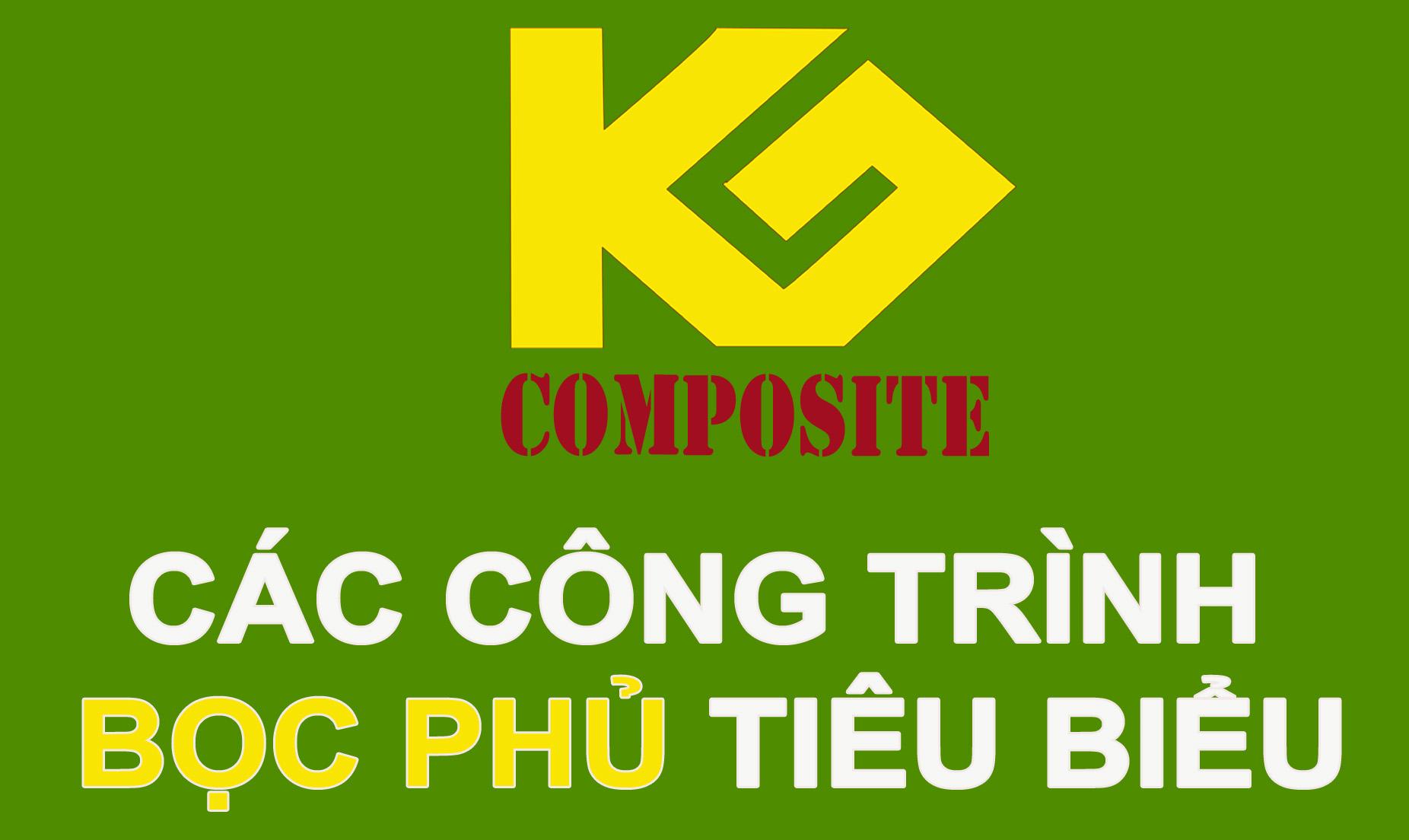Công trình bọc phủ composite tiêu biểu