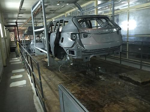 Bọc phủ Bể xi mạ cho nhà máy ôtô Huyndai Ninh Bình