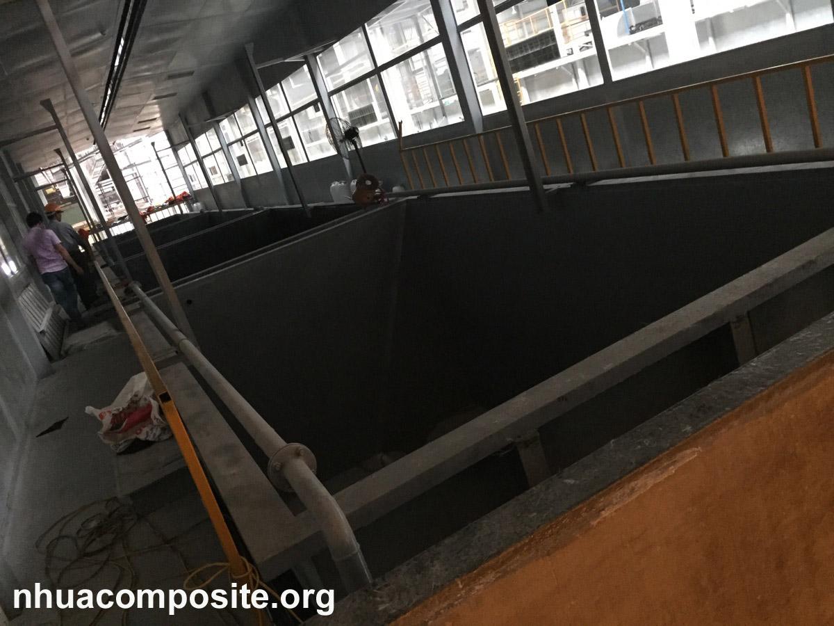 Thi công composite frp tại nhà máy ôtô Cửu Long, Hưng Yên