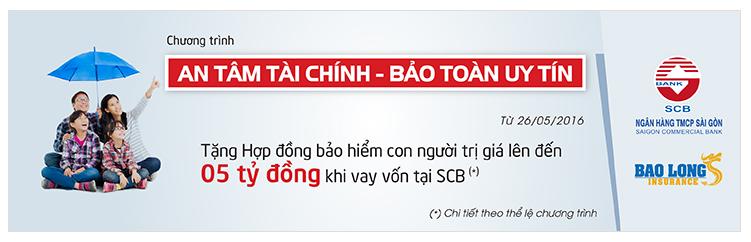 Vay thế chấp SCB Bank; vay thế chấp lãi suất thấp SCB