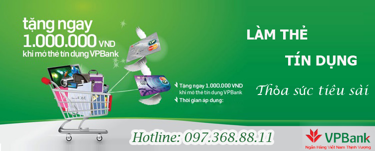 Vay tín chấp ngân hàng VPBank, vay Vpbank lãi suất thấp