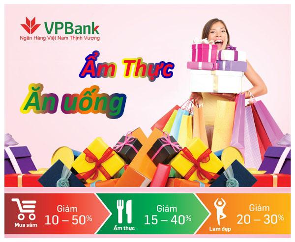 Thưởng thức ẩm thực với thẻ VPBank