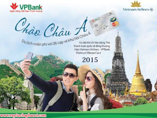 Đi du lịch với thẻ tín dụng VPBank