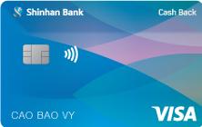 Thẻ Tín Dụng quốc tế Visa Cash Back Chuẩn