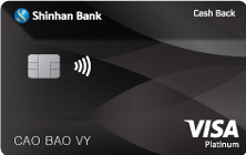 Thẻ Tín Dụng quốc tế Visa Cash Back hạng Bạch Kim
