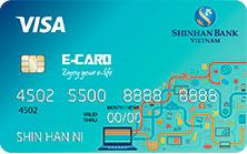 Thẻ Tín Dụng Quốc Tế Visa Cá Nhân E-Card