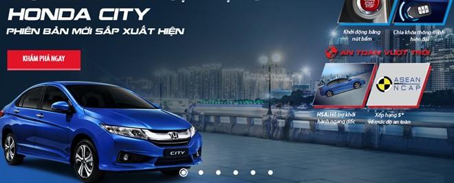 Honda City mới có cân bằng điện tử chuẩn bị ra mắt