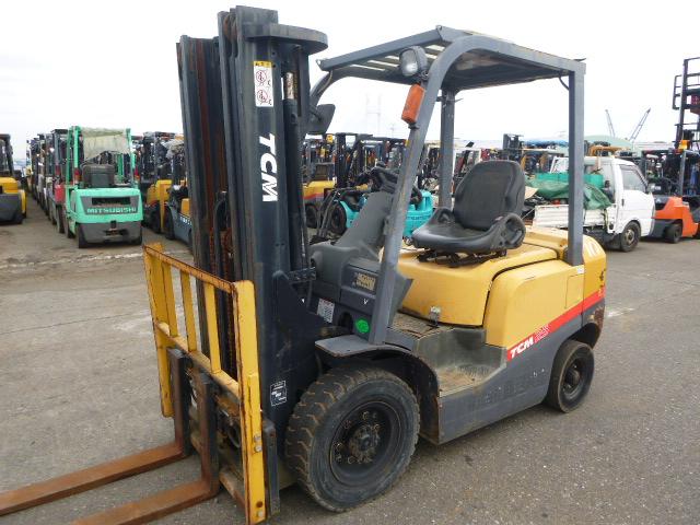 Xe nâng TCM chui container, tải trọng 2,5t, chiều cao nâng 4,35m