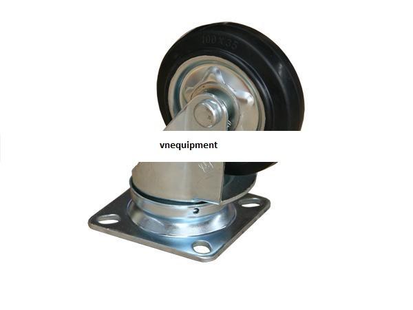 Bánh xe được làm từ chất liệu cao su di chuyển êm, không gây tiếng ồn, bánh xe được thiết kế kiểu dáng hiện đại đặc trưng theo phong cách nhật bản với bánh khóa có phanh gạt