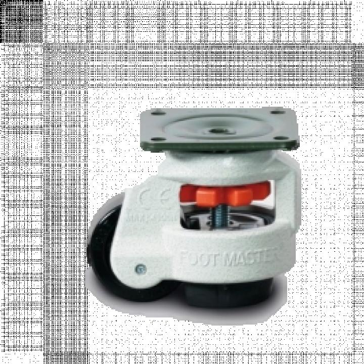 Bánh xe điều chỉnh độ cao thấp Nylon Footmaster GDN-80F