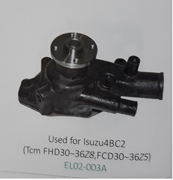 Bơm nước xe nâng động cơ Isuzu 4BG1