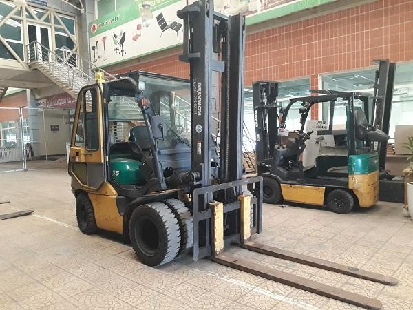 Xe nâng Komatsu chạy dầu 3,5T