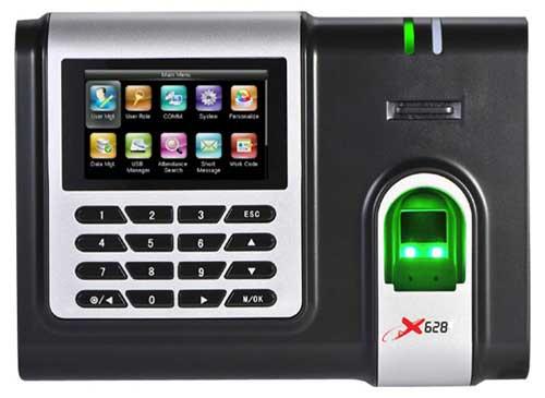 Máy chấm công vân tay  thẻ cảm ứng Ronald Jack   X628C-ID
