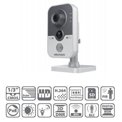 Bộ camera IP không dây Hikvision CUBE-2420F-IW (Full HD1080P, wifi, thẻ nhớ)