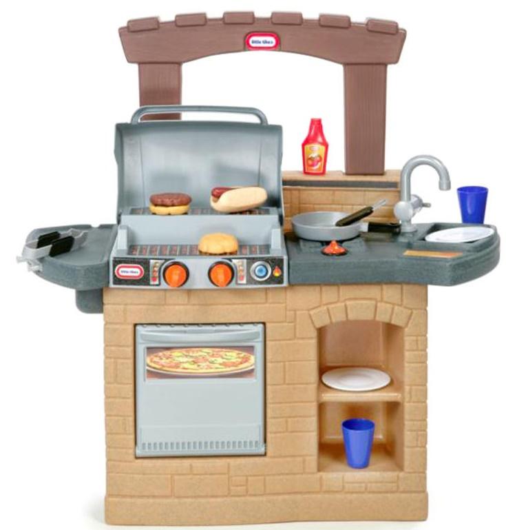 Bộ đồ chơi nhà bếp - lò nướng BBQ 1