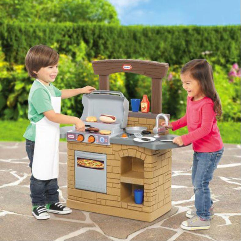 Bộ đồ chơi nhà bếp - lò nướng BBQ