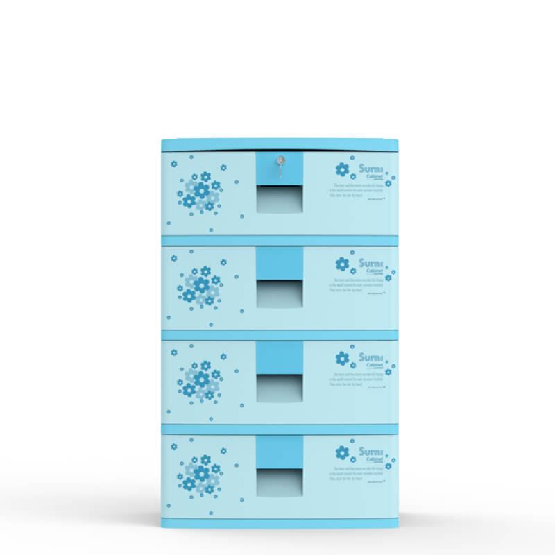 Tủ nhựa Sumi 4 ngăn Duy Tân