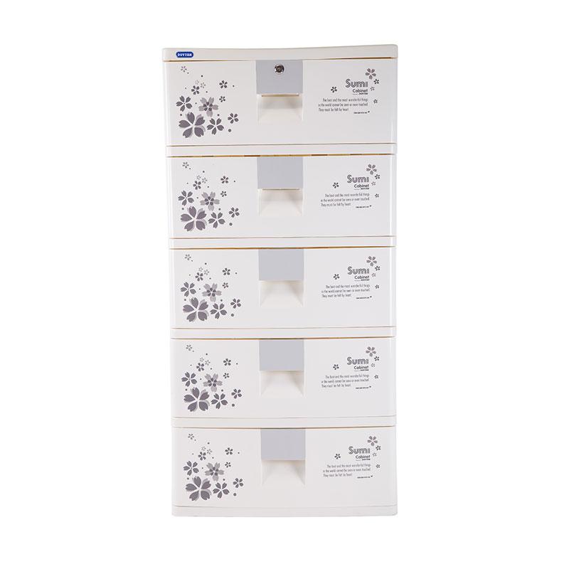 Tủ nhựa Duy Tân SUMI 5 tầng 5 ngăn