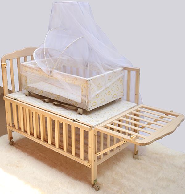 Giường cũi gỗ đa năng 2