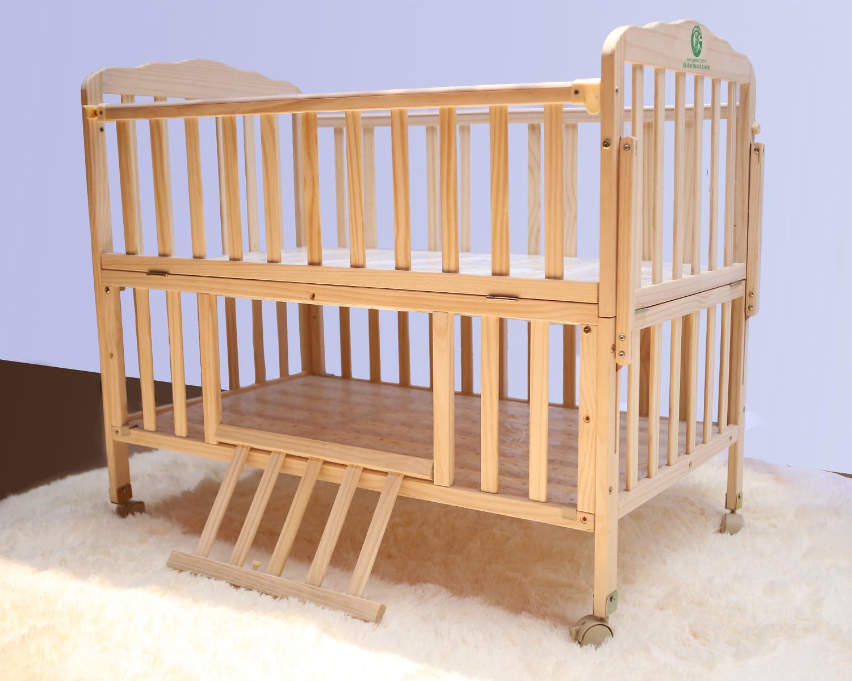 Giường cũi gỗ đa năng 3