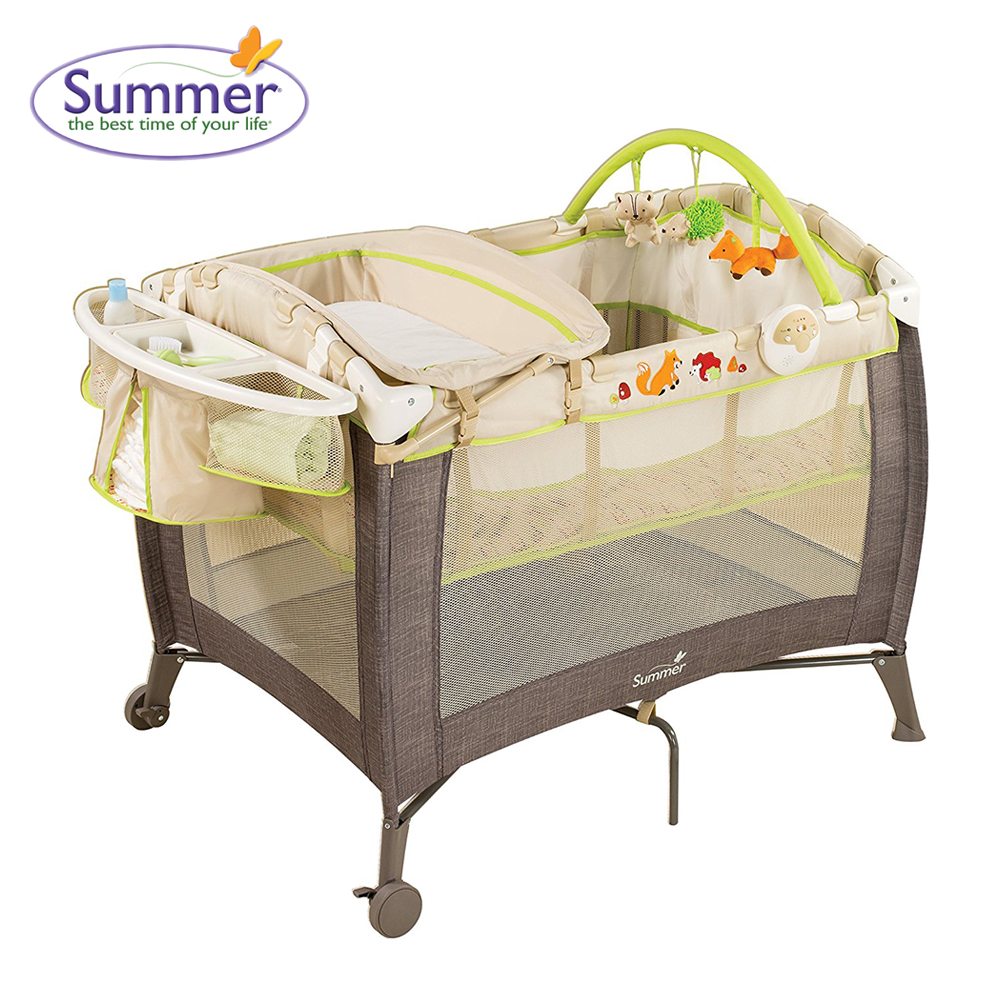 Giường cũi Fox & Friends Playard Summer SM22243